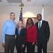 AD Photo-Op  w Atlanta Regional Office Staff Valerie Acoff, Ande Durojaiye and Laura Mitchell 7 December 2012