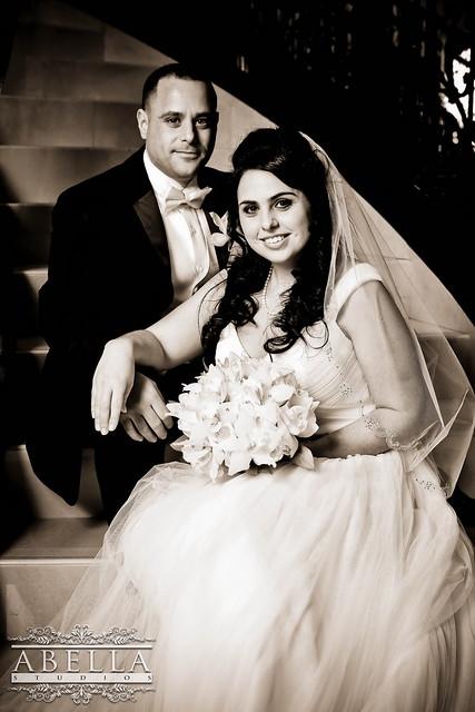 Leah & Elan - NJ Wedding Photos by www.abellastudios.com