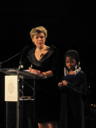 Cokie Roberts and Zaquia Jean