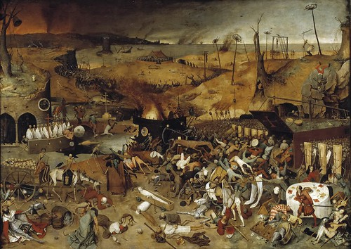 Pieter Bruegel the Elder - The Triumph of Death [c.1562] by Gandalf's Gallery