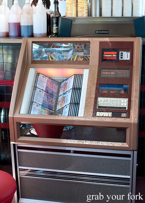 jukebox at step-a-side diner cabramatta
