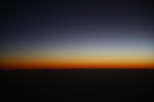 [フリー画像素材] 自然風景, 朝焼け・夕焼け, 海, 水平線 ID:201212221600