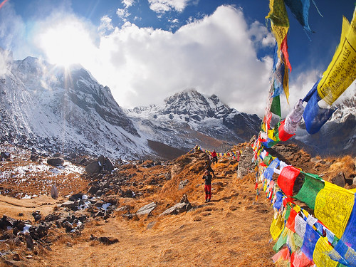 The magical landscape of Nepal