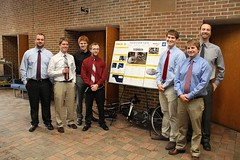 Hand-Crank Cycle 1 Team with poster