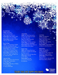 Orange Staff Holiday Picks 2012