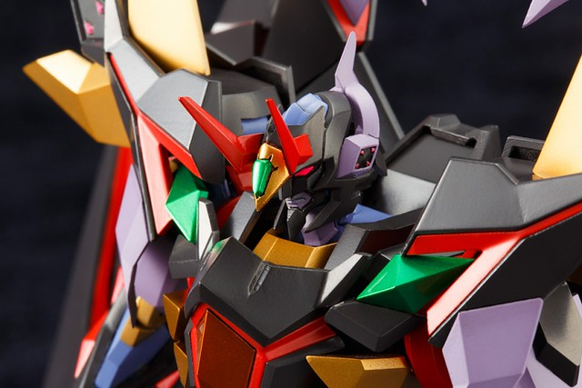 獄炎的擁抱、邪眼之光,飛翔吧! 壽屋 《第3次超級機器人大戰Z 天獄篇》  狩狼牙·罪 シュロウガ・シン