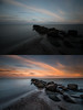 before/after Baltic Sea