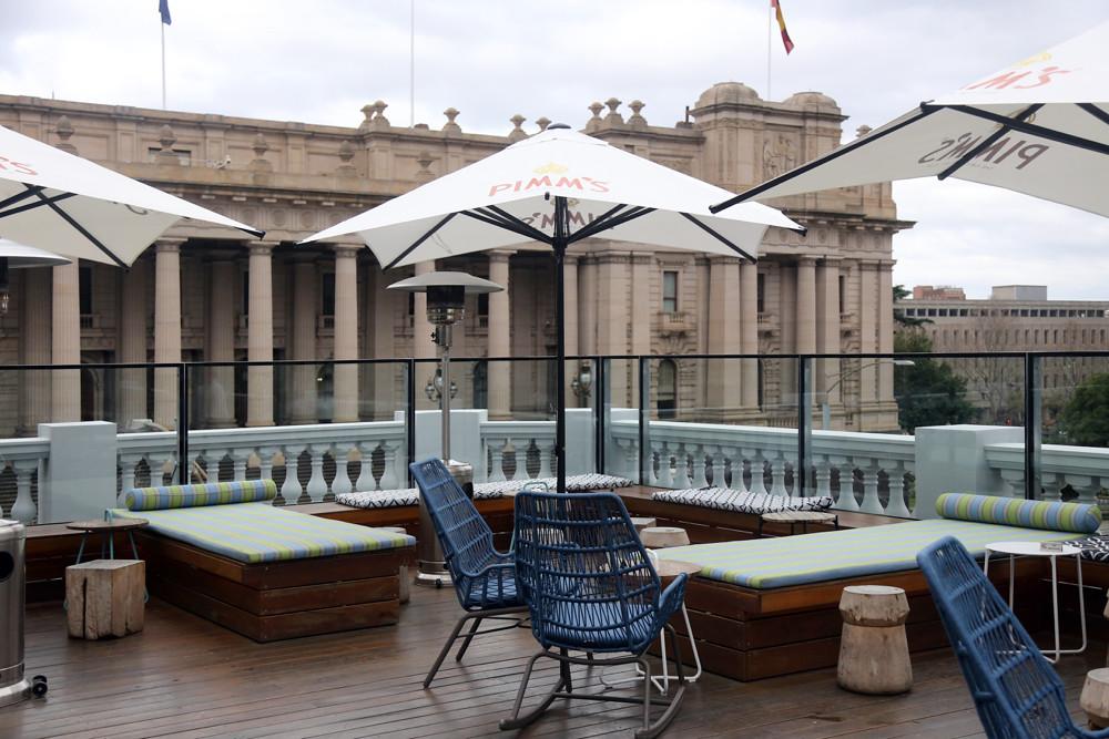 IMPERIAL HOTEL, BOURKE STREET, MELBOURNE ©