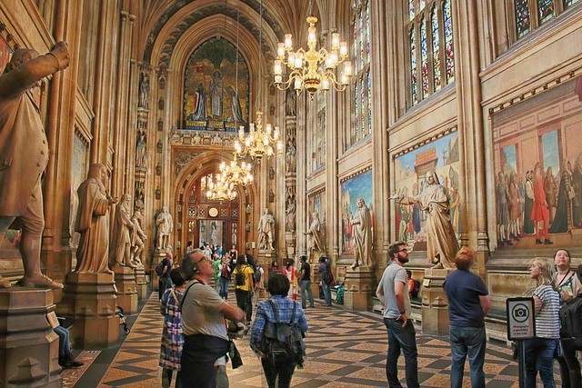 St Stephen's Hall, Houses of Parliament.