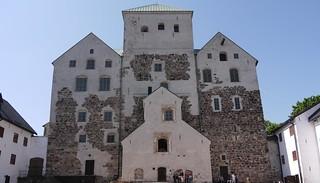 Courtyard of Turku Castle - Turunlinna