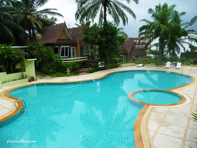 palm paradise resort krabi swimming pool