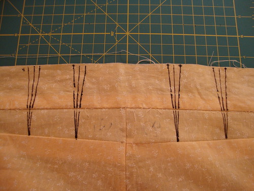 makin' darts for jeans muslin interation #3