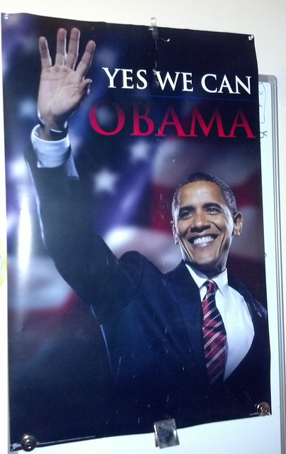 Promises dashed, poster trashed, can our hope in Obama be resurrected?