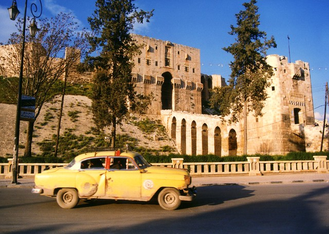 The Citadel in Aleppo, Syria (Unesco WHS, damaged in August 2012)