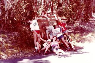 Geology/biology spring break trip to Hawaii in 1981