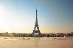 Amanecer en la Torre Eiffel