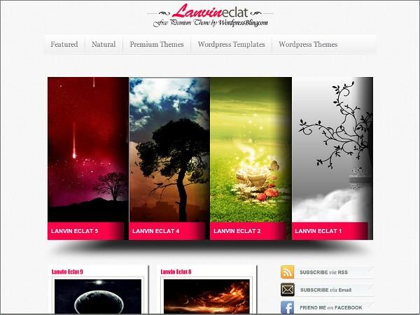 Lanvin Eclat Free WordPress Theme