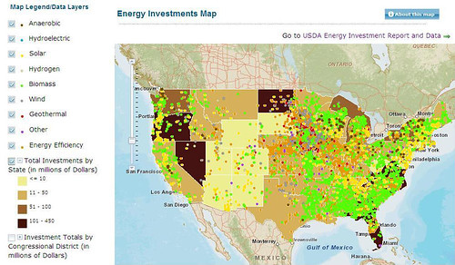 USDA enhanced its Energy website with new investments, additional agricultural, economic, social and technical data and information resources, a new investment reporting tool, and tutorial videos.