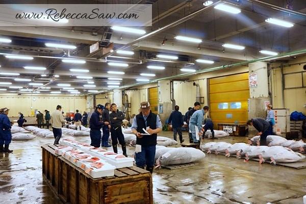 Tsukiji Market Tuna Auction - Tokyo Japan-015