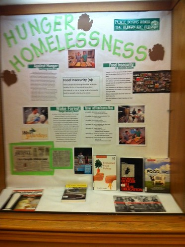 Hunger and Homelessness Exhibit