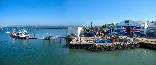 EAST COWES HARBOUR INDUSTRY...