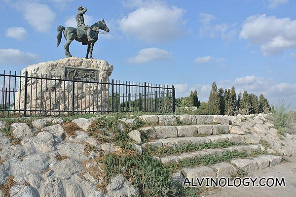 Statue of Alexander Zaïd (1886 − 10 July 1938)