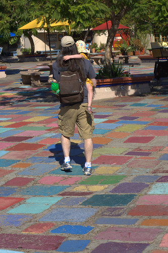 Colorful pavers