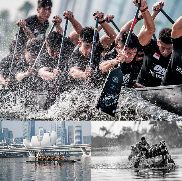 Stock Photography for Singapore National Dragon Boat Team