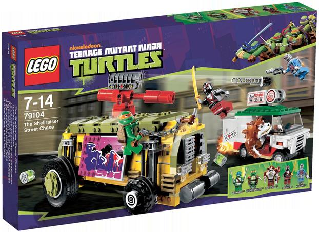 LEGO Teenage Mutant Ninja Turtles 79104 - The Shellraiser Street Chase