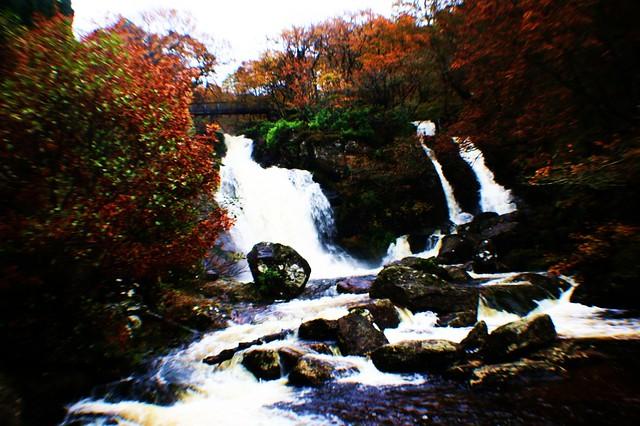 Inversnaid Falls, Loch Lomond, Scotland
