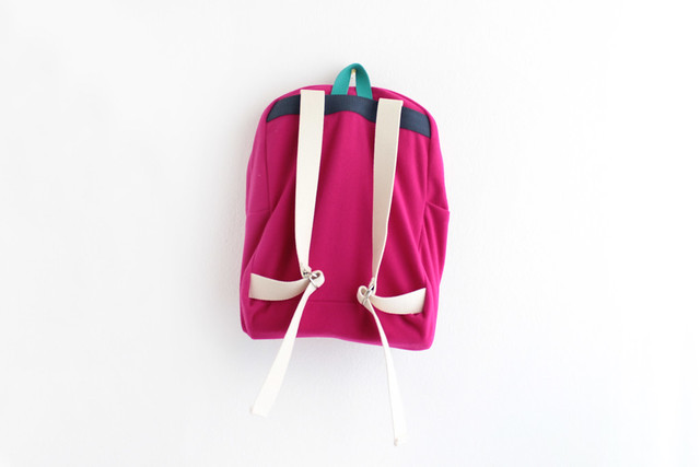 wool ziazia backpack.