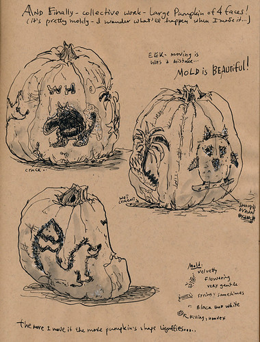 November 2012: farewell, pumpkins