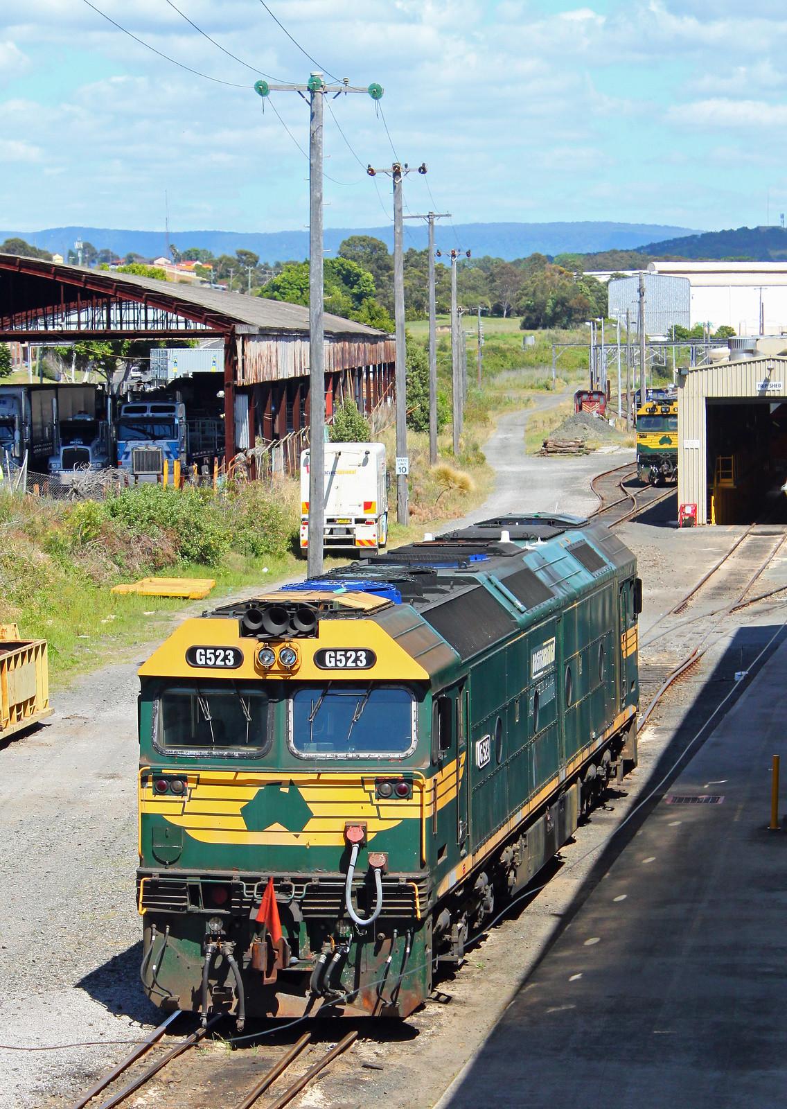 G523 at Port Kembla by Thomas