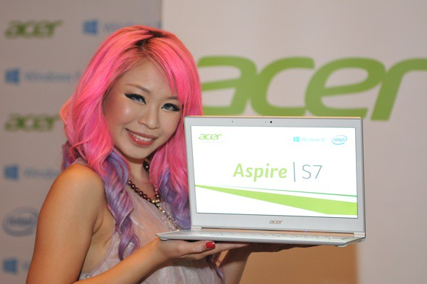 Acer Aspire S7 built to run seamlessly with Windows 8