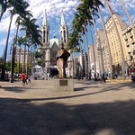 Marco zero da cidade de São Paulo