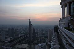 Bangkok skyline from Distil 2
