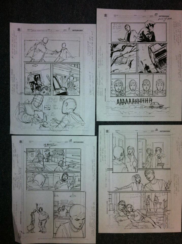 Joe Frankenstein layouts