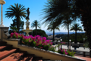 View of Pacific from Hearst Castle (explored 11-13-12, thank you)
