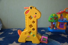 pon., 09/17/2012 - 11:46 - Wypadające klocki z żyrafy