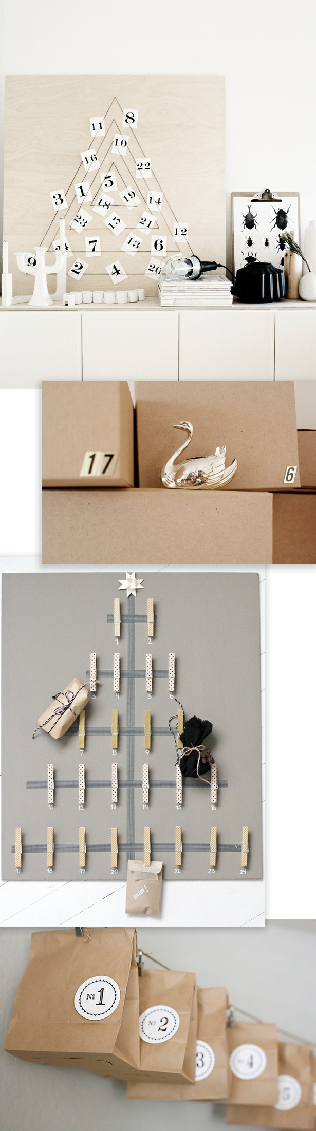 Advent Calendar DIY Round-Up
