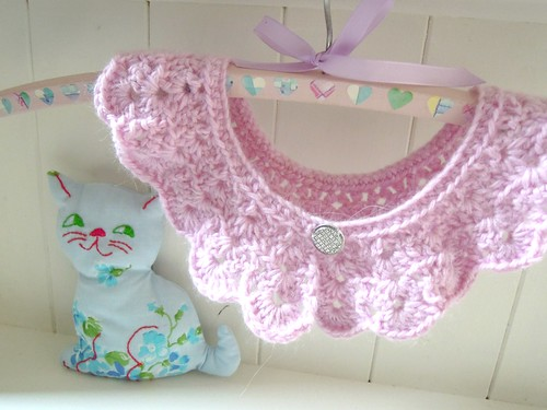 Crochet Peter Pan Collar by RubyRed06