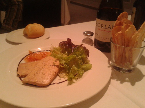 Zaragoza | Restaurante La Scala | Micuit de foie