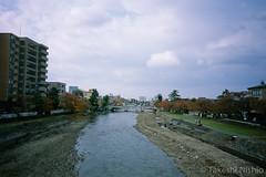 梅の橋から浅野川大橋を望む / Asanogawa-o-hashi from Umeno-hashi