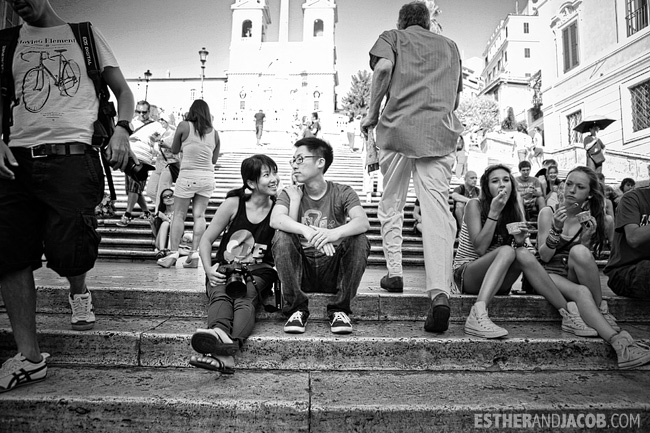Spanish Steps when in Rome Day 1 | What to do and see in Rome in 48 hours | Travel Photography