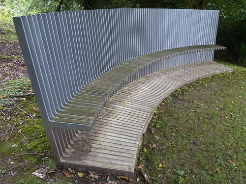 A bench at Chatsworth ... [4]