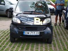 Smart na B1 we Wrocławiu