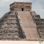 Top of El Castillo, Chichen Itza - Mexico