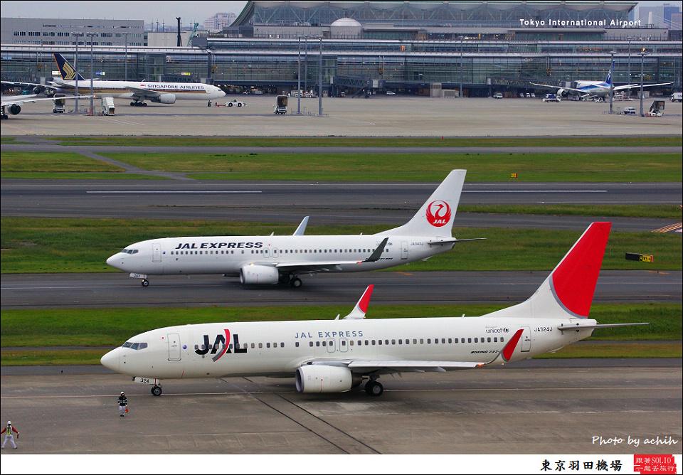 JAL Express - JAL / JA324J / Tokyo - Haneda International