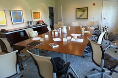 Conference Room in Use