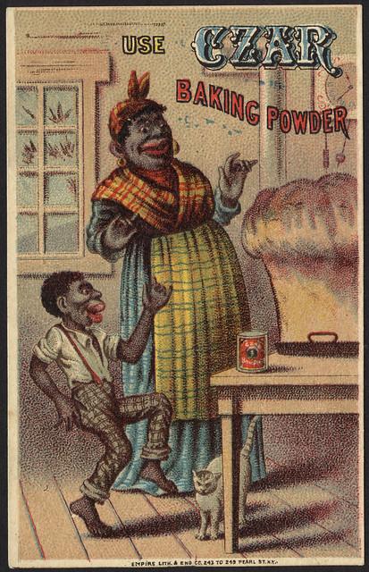 Use Czar baking powder [front]